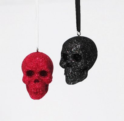 Pendants - little skulls as a pattern for production of styrofoam signage